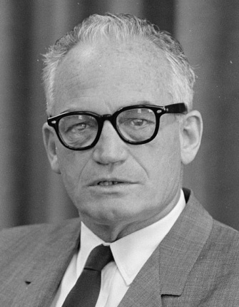 Former Arizona Senator Barry Goldwater