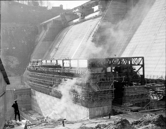 Norris Dam 1936